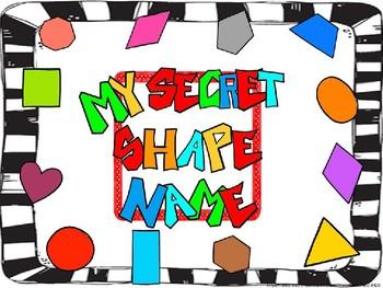 Secret Shape Name