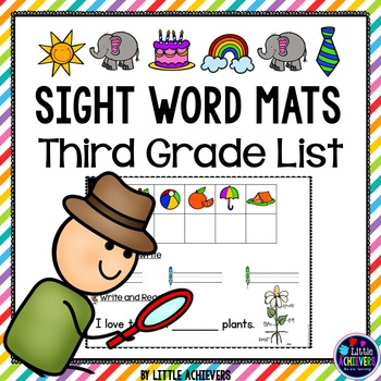 Sight Words Third Grade Secret Words