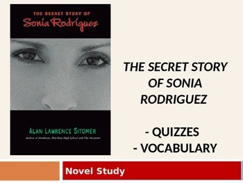 Sitomer's Secret Story of Sonia Rodriguez (Daily Reading Quizzes)