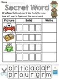 Secret Words Literacy Station (43 fun word work centers fo