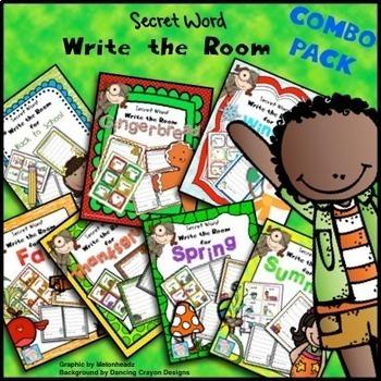 Secret Word Write the Room COMBO PACK