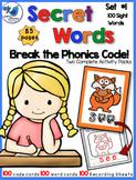 Secret Words Phonics 1: 100 SIGHT WORDS (Phonics Codes) Wh