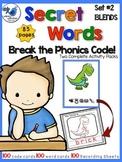 Secret Words Phonics 2: BLENDS (Phonics Codes) Whimsy Work