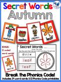 Secret Words Seasonal: Autumn (Phonics Codes) Whimsy Works