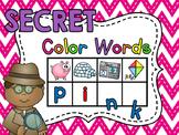 Secret Words - Color Words