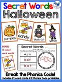 Secret Words Seasonal: Halloween (Phonics Codes) Whimsy Wo