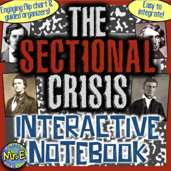 Sectionalism Interactive Notebook! Engaging Resource on th