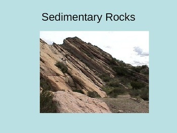 Sedimentary Rocks and Features