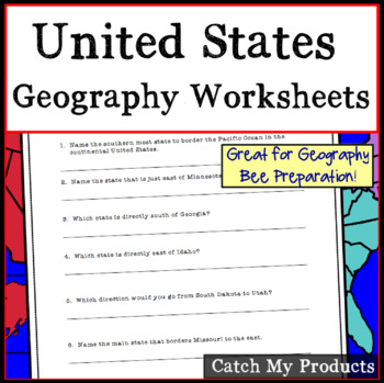 Research Questions About Geographical Locations in the USA