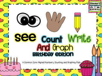 See Count Graph:  Birthday Edition!  A Common Core Math &