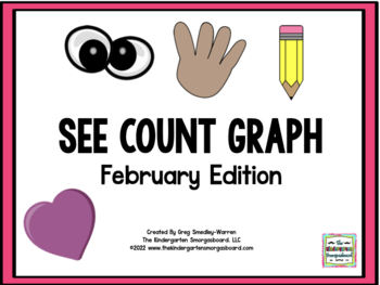 See Count Graph:  February Edition!  A Common Core Math &