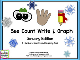 See Count Graph: January Edition! A Common Core Math & Gra