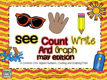 See Count Graph:  May Edition!  A Common Core Math & Graph