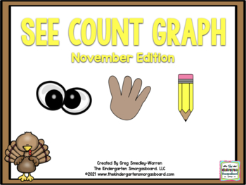 See Count Graph:  November Edition!  A Common Core Math &