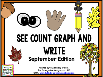 See Count Graph:  September Edition!  A Common Core Math &