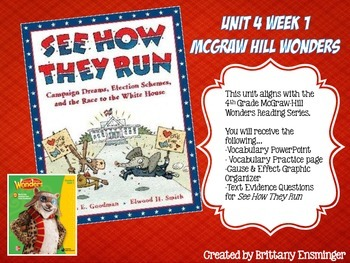 See How They Run - Unit 4 Week 1 McGraw-Hill Wonders
