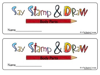 Say, Stamp & Draw (Body Parts)