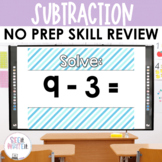 See it. Write it. - Subtraction Interactive PowerPoint