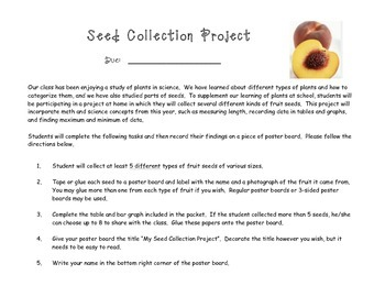 Seed Collection Project