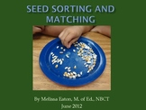 Seed Sorting and Matching Activity