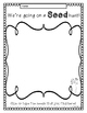 Seed to Plant {A Science Exploration for K-1}