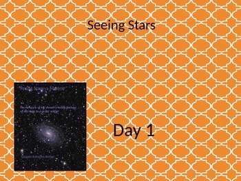 Seeing Stars power point and interactive notebook