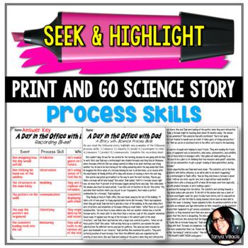 Seek & Highlight: Science Process Skills (Infer, Predict,