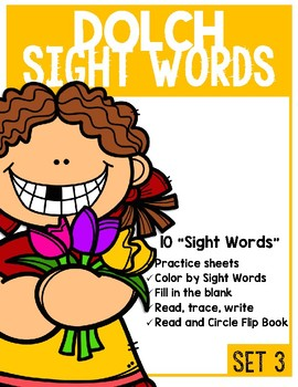 Seek and Circle Sight  Words