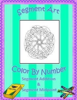 Segment Addition & Midpoint Art