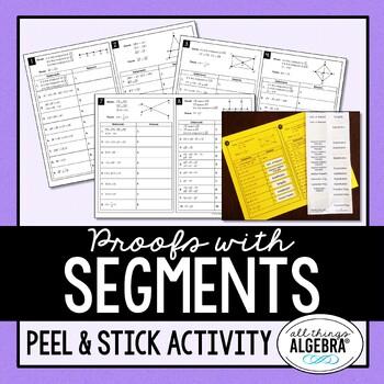 Segment Proofs Peel & Stick Activity