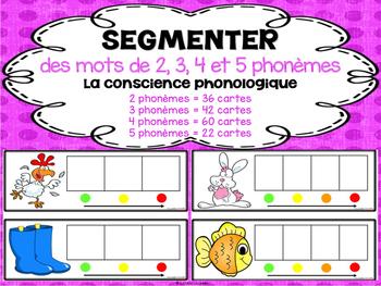 Segmenter des mots de 2, 3, 4, et 5 phonèmes - la conscien
