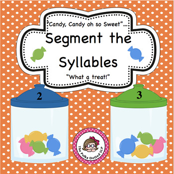 Segmenting words into Syllables with a Candy Theme