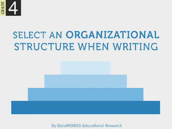 Select an Organizational Structure when Writing