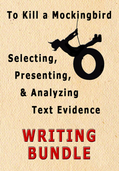 Selecting Presenting Analyzing Text Evidence Writing Unit