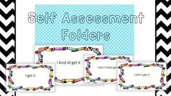 Self Assessment Folder Covers