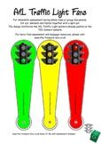 Self Assessment Traffic Light Fans