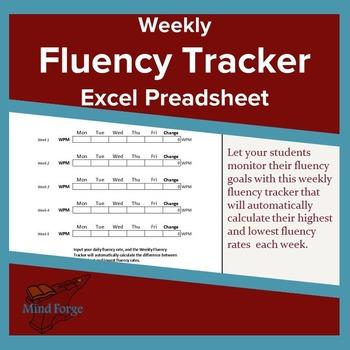Self-Calculating Fluency Tracker