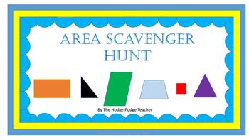 Self-Checking Area Scavenger Hunt