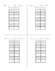 Self-Checking Card Sort: Writing Linear Equations in Stand