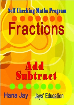 Self Checking FRACTIONS Add Subtract