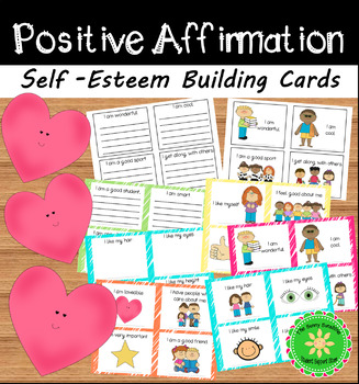 Self-Esteem Building Cards