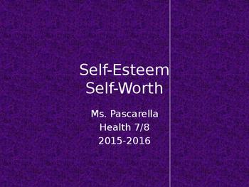 Self-Esteem PowerPoint
