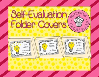 Self-Evaluation Folder Covers