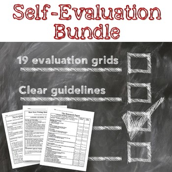 Rubrics: Self Evaluation and teacher assessment rubrics