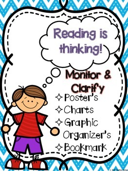 Monitor and Clarify: Reading is thinking!