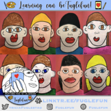 Self-Portrait Kindergarten Painting Step-by-Step Powerpoint