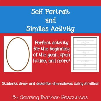 Self Portrait and Similes Activity