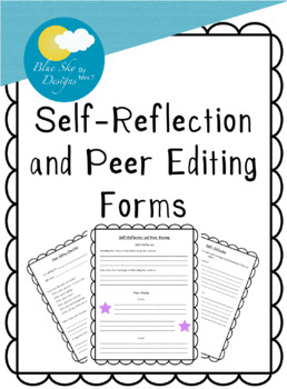 Self-Reflection and Peer Review Handout