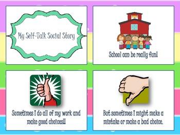 Self-Talk Social Story
