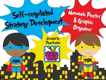 Self-regulated Strategy Development Posters for Informativ